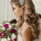 Hairstyle in marriage