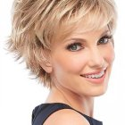 Styles for short haircuts