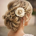 Upstyles for a wedding