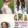 Different hairstyles for ladies
