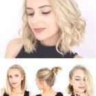 Easy hairstyles for short thin hair
