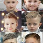 Trendy hairstyles for boys