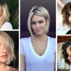 Bobbed hairstyles 2018