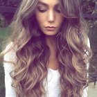 Hairstyle for long hair 2018