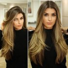 Hairstyles for long hair 2019