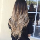 Ombre hairstyle 2019